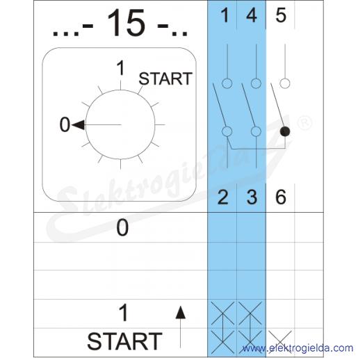 Schemat łączenia 4G10-15-U