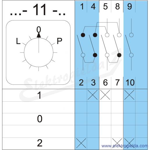Schemat łączenia 4G10-11-PK