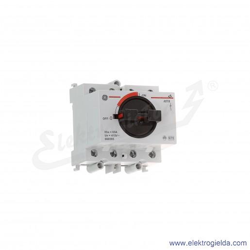 Rozłącznik obrotowy AST R 63 40 4P 63A