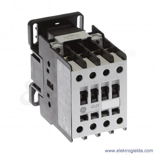 Stycznik CL03A310M6 230V AC 50/60 HZ, 1NO, 12KW/400V AC-3, 45A AC-1, 3-polowy