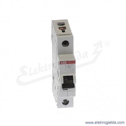 Wyłącznik nadprądowy SZ201-B6 1P B 6A AC 6kA
