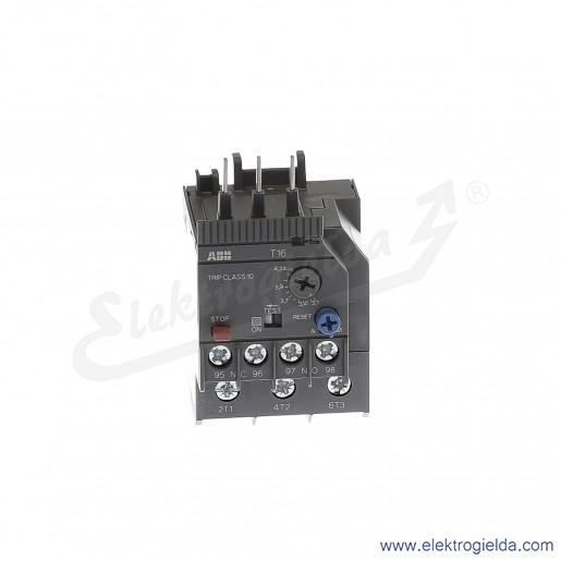 Przekaźnik termiczny T16-4.2 3.1-4.2 A
