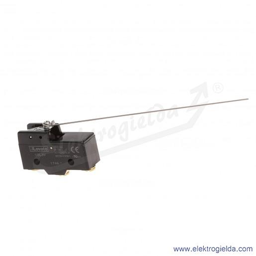 Wyłącznik krańcowy KSL3V dźwignia pręt L168,3mm