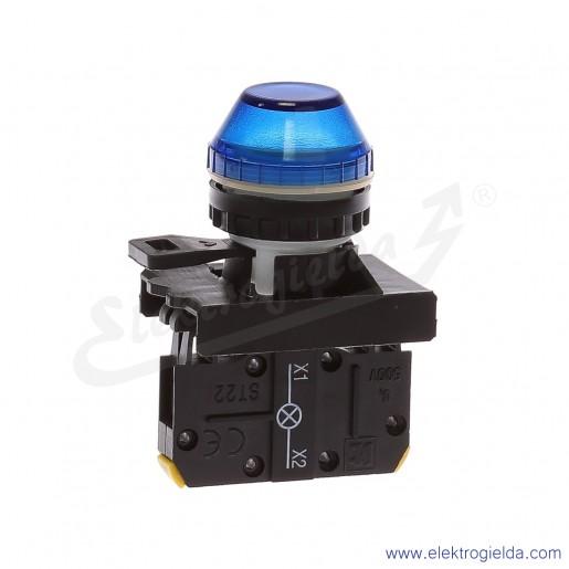 Kompletna lampka sygnalizacyjna ST22-LN-230-BA9s