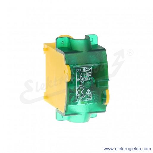 OBL 35/25-1  PE Odgałęźnik instalacyjny
