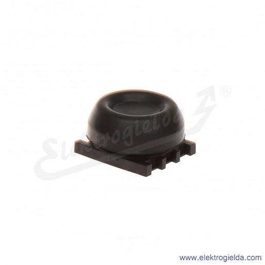 Napęd przycisku KP6-40B czarny fi30mm uszczelniany