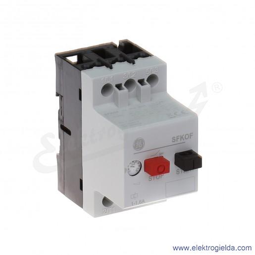 Wyłącznik silnikowy SFK0F 1-1,6A 3P 0,55kW
