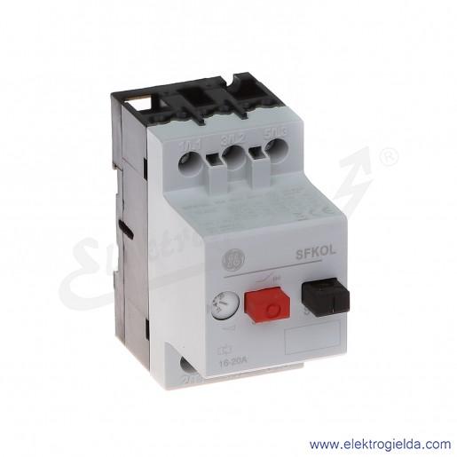 Wyłącznik silnikowy SFK0L 16-20A 3P 9kW