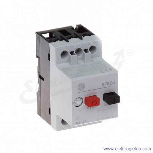 Wyłącznik silnikowy SFK0J 6,3-10A 3P 4kW