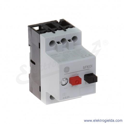 Wyłącznik silnikowy SFK0I 4-6,3A 3P 2,2kW