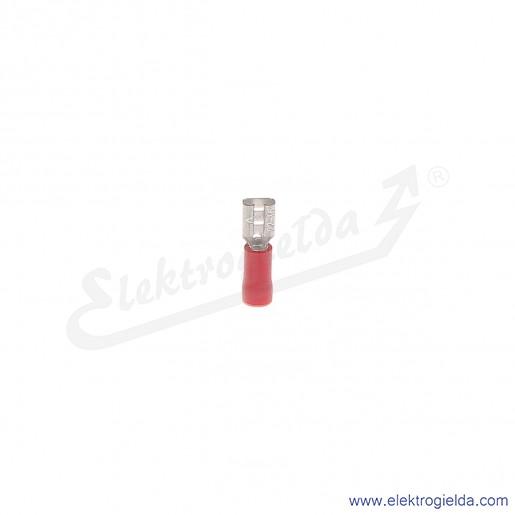 Wsuwka izolowana NI 4,8-1/0,8 PCV z tuleją izolacyjną