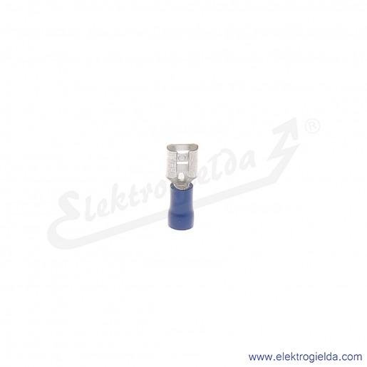 Wsuwka izolowana NI 6,3-2,5/0,8 PCV z tuleją izolacyjną
