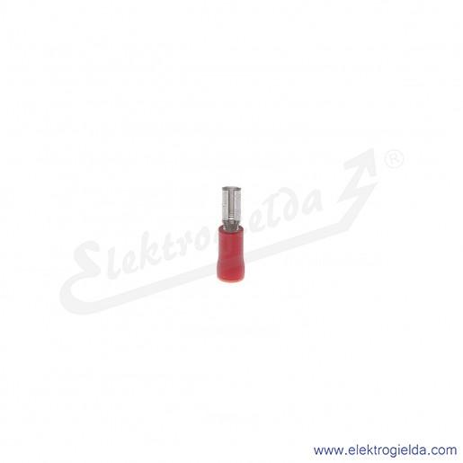 Nasuwka całkowicie izolowana NCI 4,8-1/0,8 PCV z długą tuleją izolacyjną