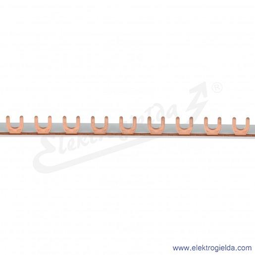 Szyna podłączeniowa 57x1P - długość 1m widełkowa izolowana 10mm