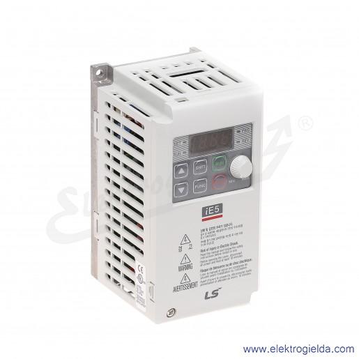 Falownik SV001IE5-1C 100 W 230V 1F skalarny