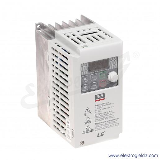 Falownik SV004IE5-1C 0,4 kW 230V 1F skalarny