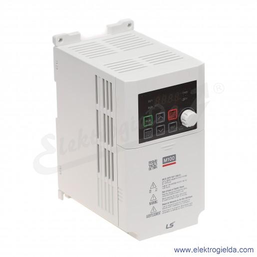 Falownik LSLV0008M100-1EOFNA  800 W 230V 1F skalarny