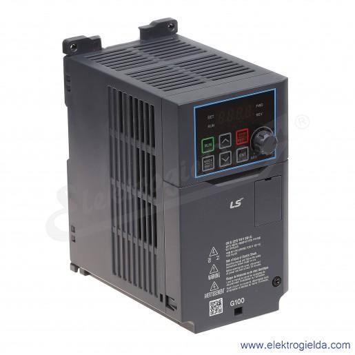 Falownik LSLV0015M100-1EOFNA 1,5 kW 230V 1F skalarny