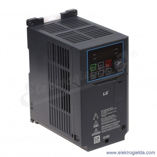Falownik  LV0008G100-4EOFN  0.8/1.5kW 400V wbudowany filtr EMC  wektorowy