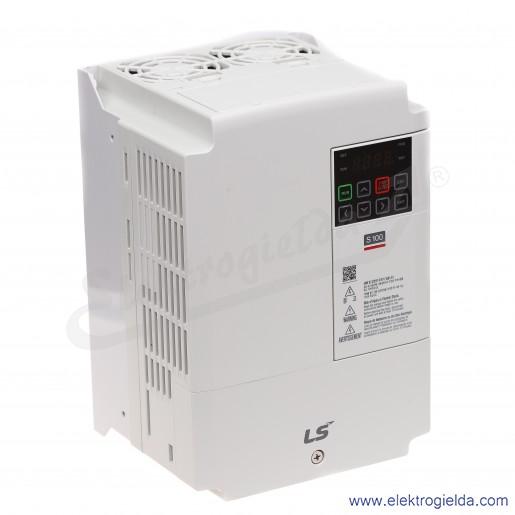 Falownik LV0015G100-4EOFN  1.5/2.2kW 400V wbudowany filtr EMC  wektorowy