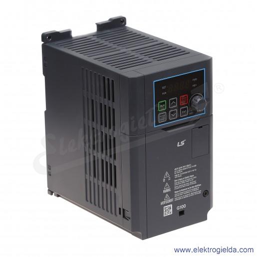 Falownik LV0022G100-4EOFN  2.2/4.0kW 400V wbudowany filtr EMC  wektorowy