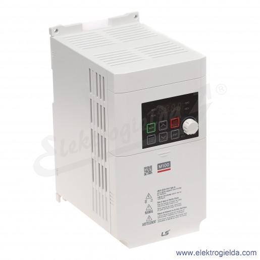 Falownik LSLV0022M100-1EOFNA 2.2 kW 230V 1F skalarny