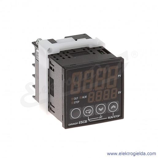 Regulator E5CB-R1P 230VAC temperatury PT100 zasilanie 230VAC