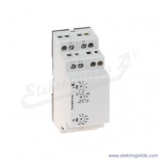 Przekaźnik czasowy wielofunkcyjny TR-EM2P-UNI 2p 12...240 VAC/DC, 7 funkcji