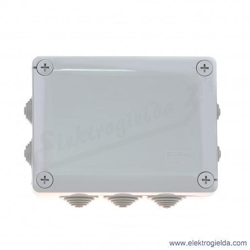 Puszka instalacyjna 689.006 150x110x70 mm z dławnicami, IP55 montaż natynkowy