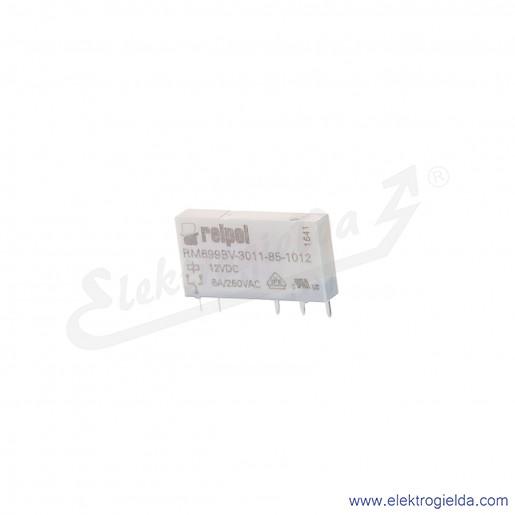 Przekaźnik miniaturowy RM699BV-3011-85-1012 1P 12VDC do gniazd i obwodów drukowanych