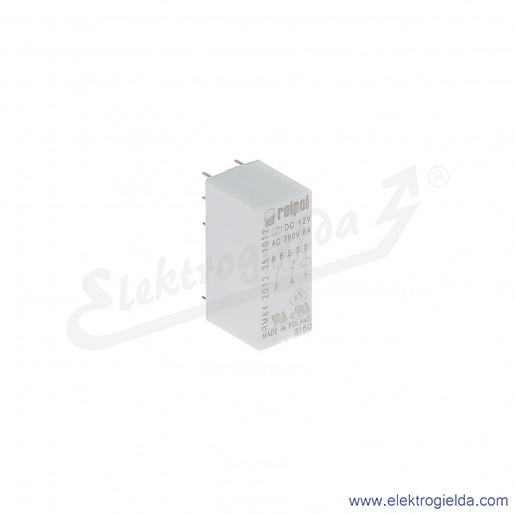 Przekaźnik miniaturowy RM84-2012-35-1012 2P 12VDC do gniazd i obwodów drukowanych