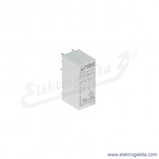 Przekaźnik miniaturowy RM84-2012-35-1024 2P 24VDC do gniazd i obwodów drukowanych