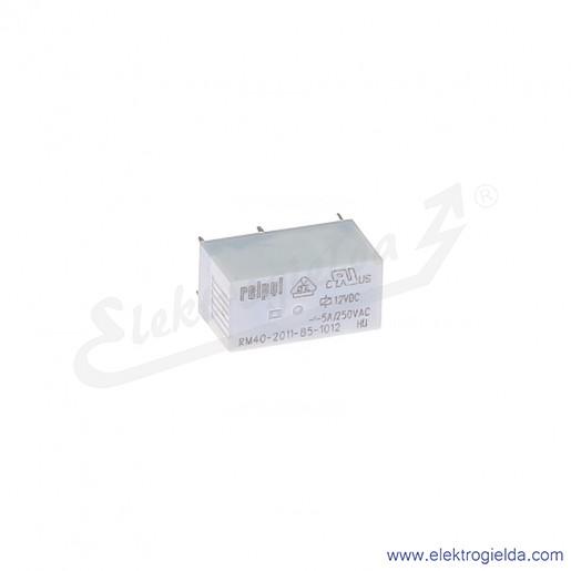 Przekaźnik miniaturowy RM85-2011-35-1006 1P 6VDC do gniazd i obwodów drukowanych