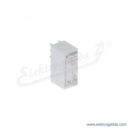 Przekaźnik miniaturowy RM85-2011-35-1024 P 24VDC do gniazd i obwodów drukowanych