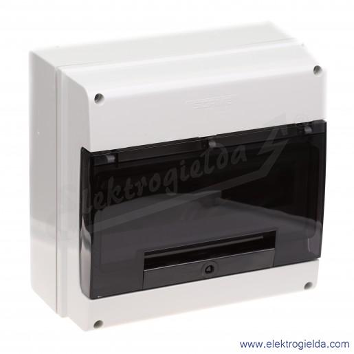 Rozdzielnia seria Domino 672.2012 ilość modułów 12 DIN, IP66, natynkowa