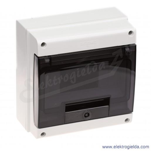 Rozdzielnia seria Domino 672.208 ilość modułów 8 DIN, IP66, natynkowa