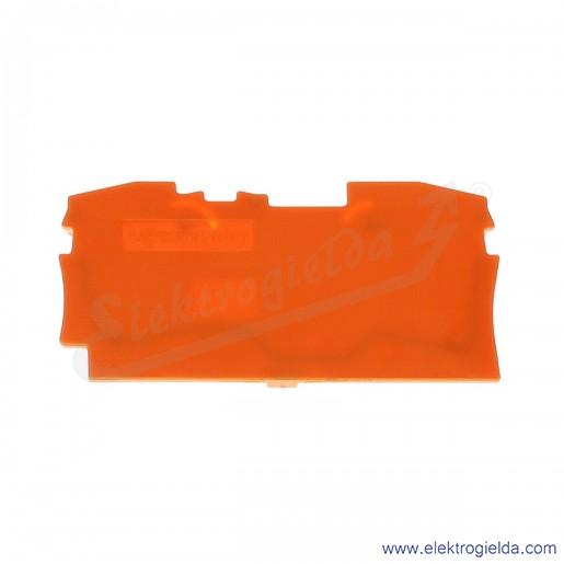 Ścianka końcowa 2004-1292 pomarańczowa do złączek 2004-120x
