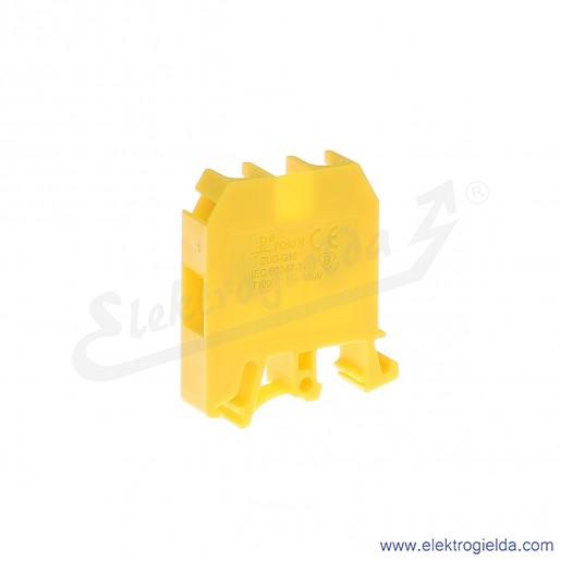 ZUG G 16  Złączka żółta jednotorowa gwintowa