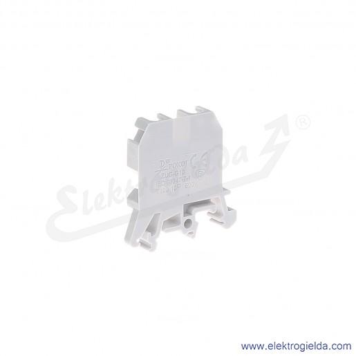 ZUG G 10  Złączka szara jednotorowa gwintowa