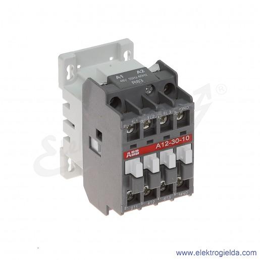 Stycznik A12-30-10 48V AC 50/60 HZ, 1NO, 5.5KW/400V AC-3, 27A AC-1, 3-polowy