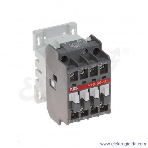 Stycznik A16-30-10 42V AC 50/60 HZ, 1NO, 7.5KW/400V AC-3, 30A AC-1, 3-polowy