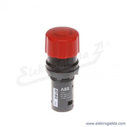 Przycisk CE3T-10R-02 grzybkowy STOP bezpieczeństwa czerwony 2NC odryglowywany przez obrót
