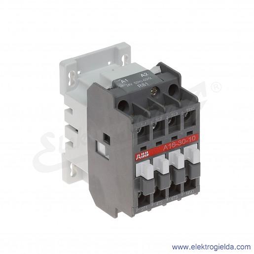 Stycznik A16-30-10 24V AC 50/60 HZ, 1NO, 7.5KW/400V AC-3, 30A AC-1, 3-polowy