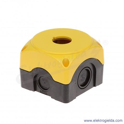 LPZ P1A5 żółta, 1 otwór bez wyposażenia