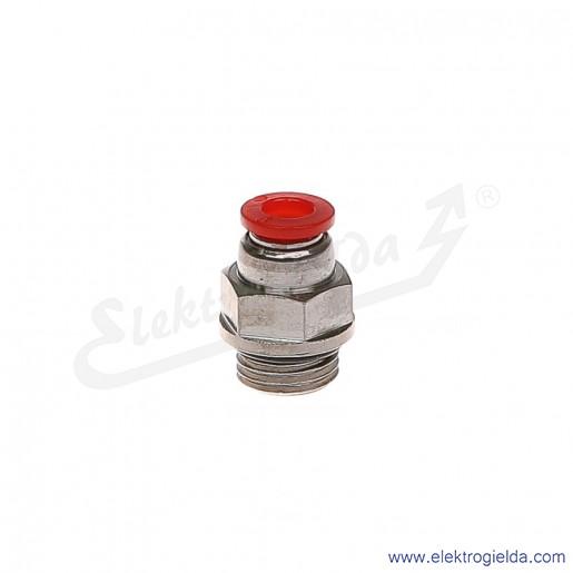 Złączka prosta G1/4 FI-6mm Pneufit C