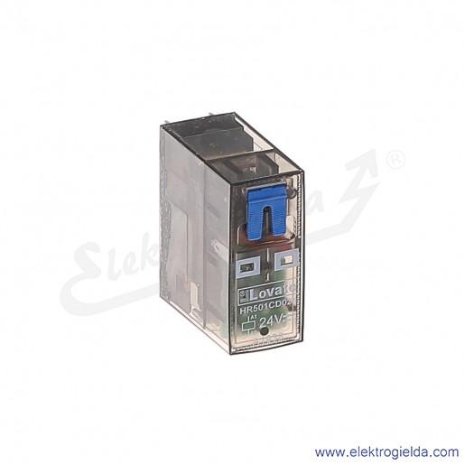 Przekaźnik HR501CD024 1P 16A 24VDC wskaźnik LED