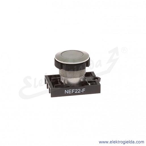 Napęd przycisku NEF22 F metalowy kryty wandaloodporny