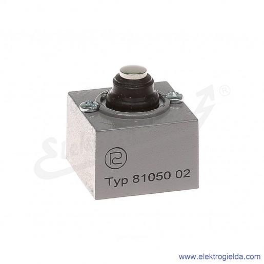 Głowica łącznika krańcowego 81 050-0.2 metalowa z popychaczem pionowym