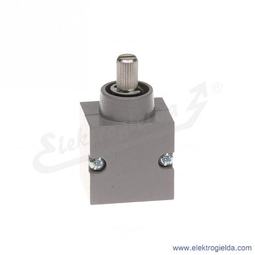 Głowica łącznika krańcowego 81 050-6.2 metalowa do dźwigni o działaniu prawostronnym