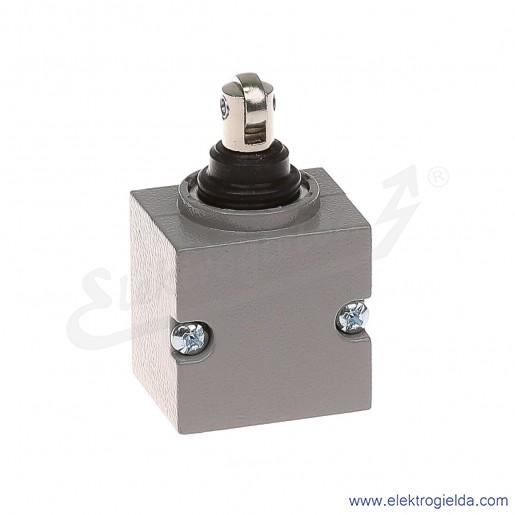 Głowica łącznika krańcowego 81 050-4.2 metalowa z popychaczem bocznym i rolka pionową